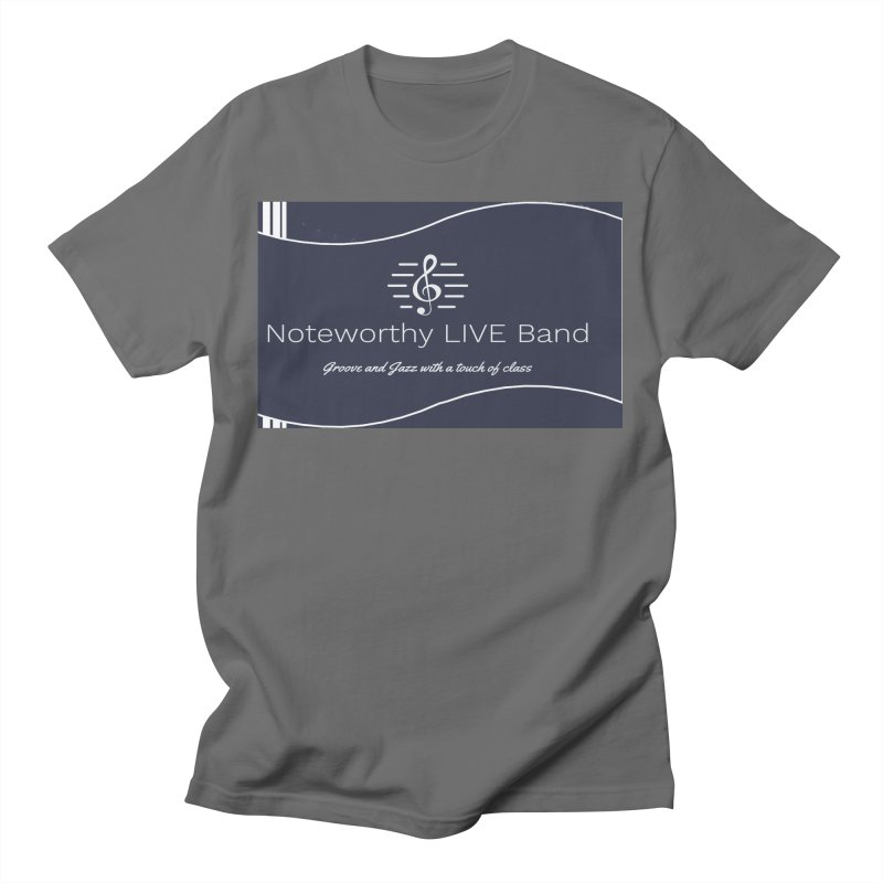 Navy Blue Men's T-Shirt by Official Threadless Shop for Noteworthy LIVE Band