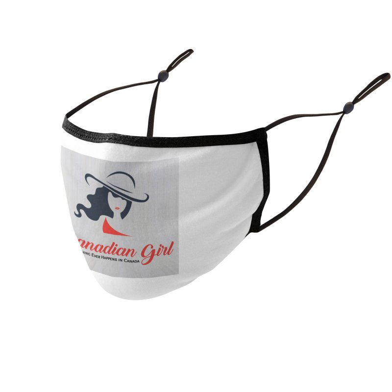Canadian Girl Accessories Face Mask by The Nothing Canada Souvenir Shop