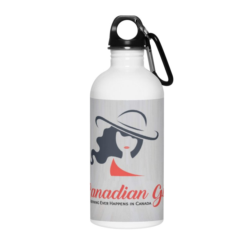 Canadian Girl Accessories Water Bottle by The Nothing Canada Souvenir Shop