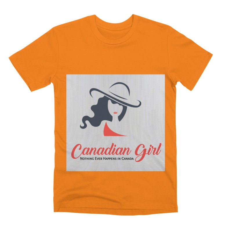 Canadian Girl Men's T-Shirt by The Nothing Canada Souvenir Shop