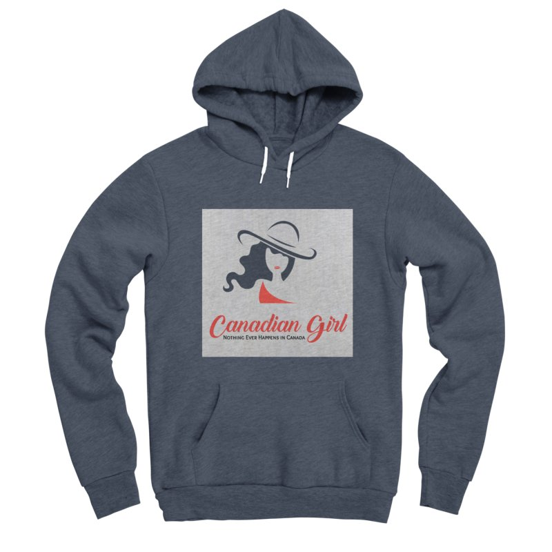 Canadian Girl Women's Sponge Fleece Pullover Hoody by The Nothing Canada Souvenir Shop