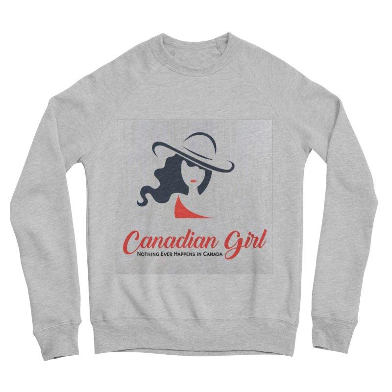 Canadian Girl Men's Sponge Fleece Sweatshirt by The Nothing Canada Souvenir Shop
