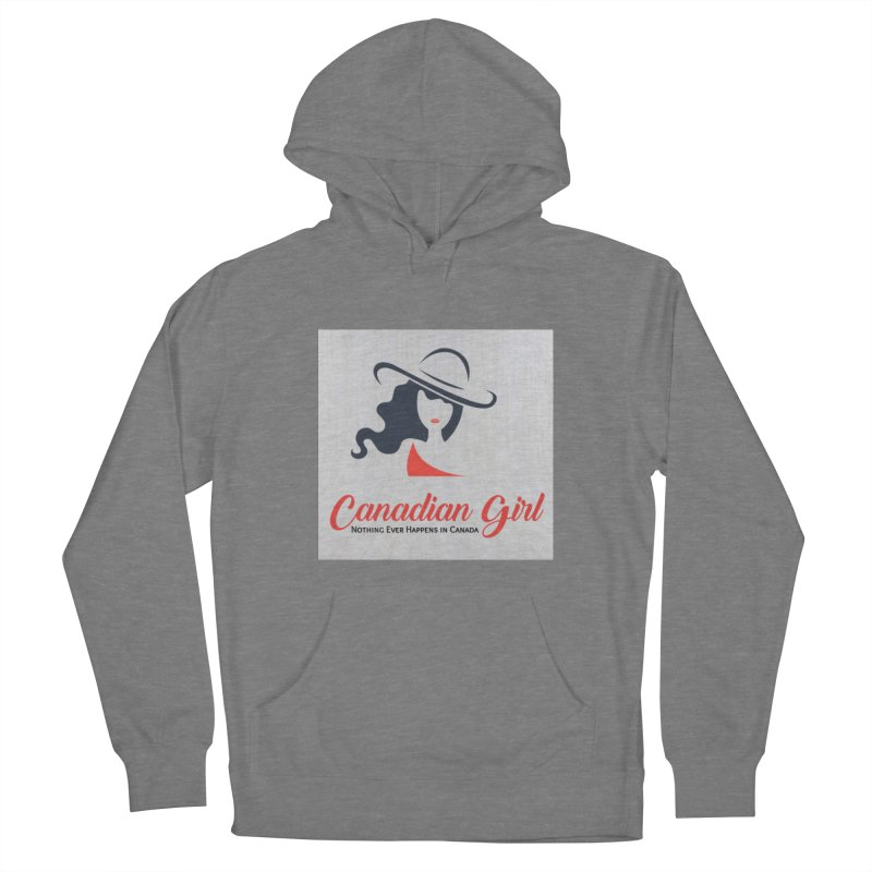 Canadian Girl Men's French Terry Pullover Hoody by The Nothing Canada Souvenir Shop