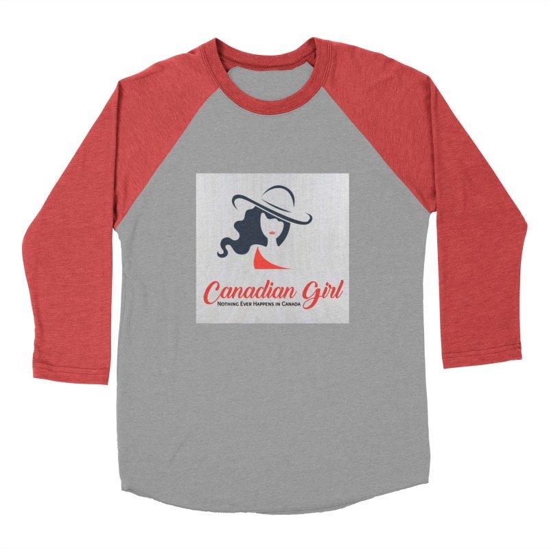 Canadian Girl Men's Longsleeve T-Shirt by The Nothing Canada Souvenir Shop