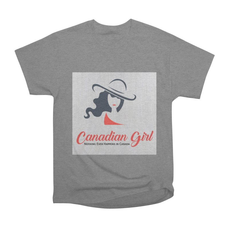 Canadian Girl Men's Heavyweight T-Shirt by The Nothing Canada Souvenir Shop