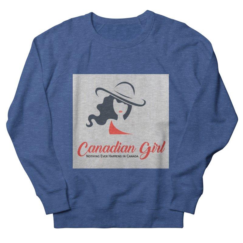 Canadian Girl Men's Sweatshirt by The Nothing Canada Souvenir Shop
