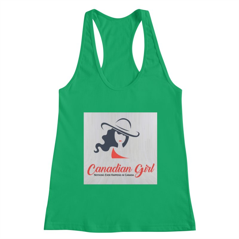 Canadian Girl Women's Tank by The Nothing Canada Souvenir Shop