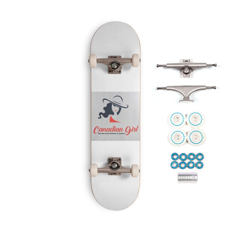 Canadian Girl Accessories Complete - Basic Skateboard by The Nothing Canada Souvenir Shop