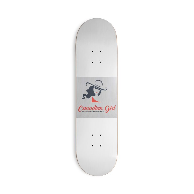 Canadian Girl Accessories Deck Only Skateboard by The Nothing Canada Souvenir Shop