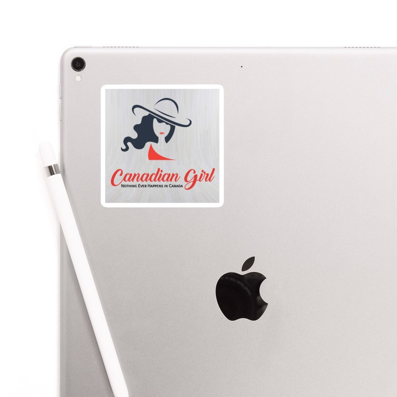 Canadian Girl Accessories Sticker by The Nothing Canada Souvenir Shop