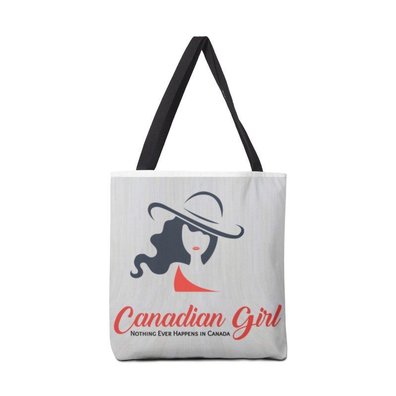 Canadian Girl Accessories Tote Bag Bag by The Nothing Canada Souvenir Shop