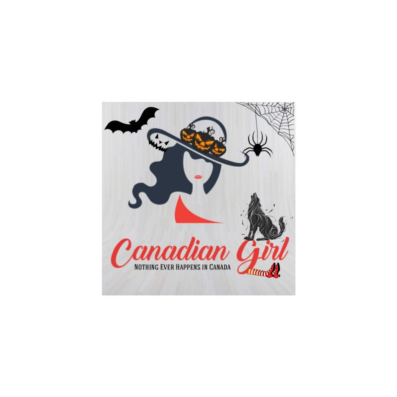 Spooky Canadian Girl Men's T-Shirt by The Nothing Canada Souvenir Shop