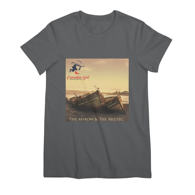 The Myron and the Miztec,  they could not be separated Women's Premium T-Shirt by The Nothing Canada Souvenir Shop