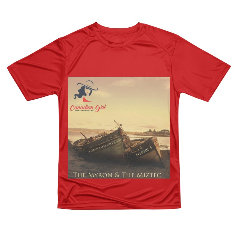 The Myron and the Miztec,  they could not be separated Men's Performance T-Shirt by The Nothing Canada Souvenir Shop