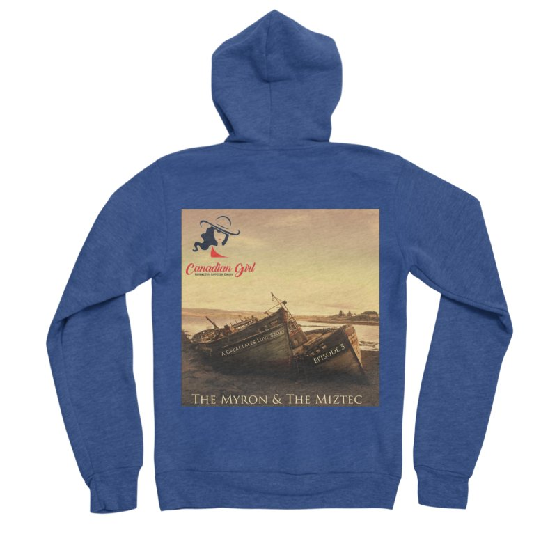 The Myron and the Miztec,  they could not be separated Women's Sponge Fleece Zip-Up Hoody by The Nothing Canada Souvenir Shop