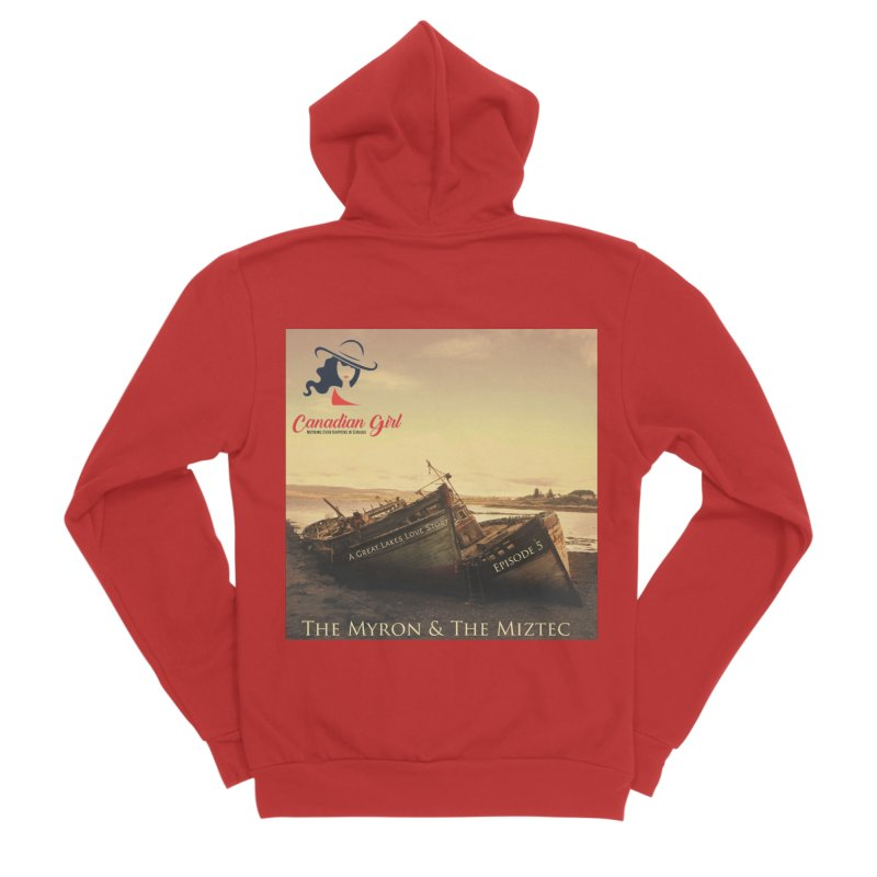 The Myron and the Miztec,  they could not be separated Women's Zip-Up Hoody by The Nothing Canada Souvenir Shop