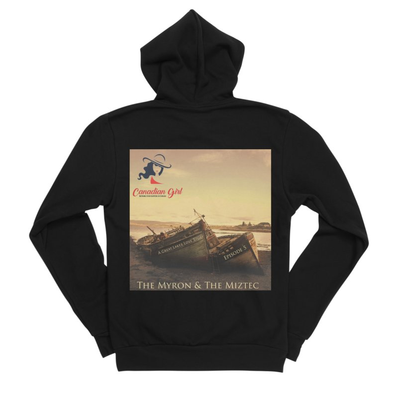 The Myron and the Miztec,  they could not be separated Men's Sponge Fleece Zip-Up Hoody by The Nothing Canada Souvenir Shop