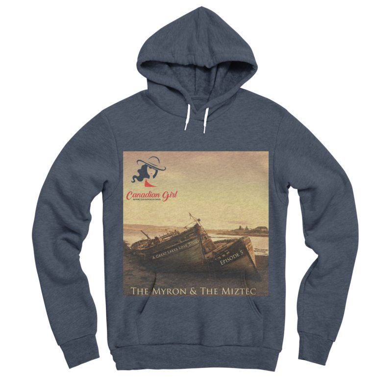 The Myron and the Miztec,  they could not be separated Women's Sponge Fleece Pullover Hoody by The Nothing Canada Souvenir Shop