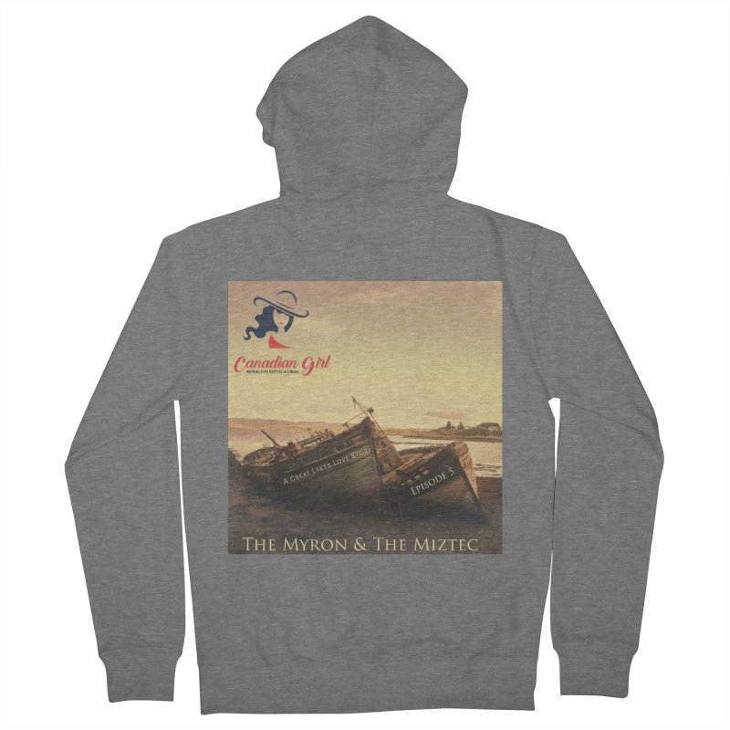 The Myron and the Miztec,  they could not be separated Men's French Terry Zip-Up Hoody by The Nothing Canada Souvenir Shop
