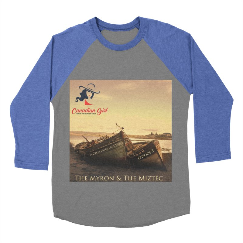 The Myron and the Miztec,  they could not be separated Women's Baseball Triblend Longsleeve T-Shirt by The Nothing Canada Souvenir Shop