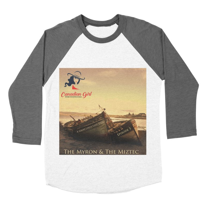 The Myron and the Miztec,  they could not be separated Men's Baseball Triblend Longsleeve T-Shirt by The Nothing Canada Souvenir Shop
