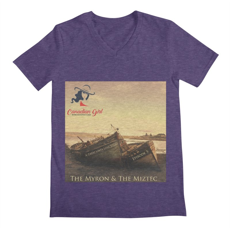 The Myron and the Miztec,  they could not be separated Men's Regular V-Neck by The Nothing Canada Souvenir Shop