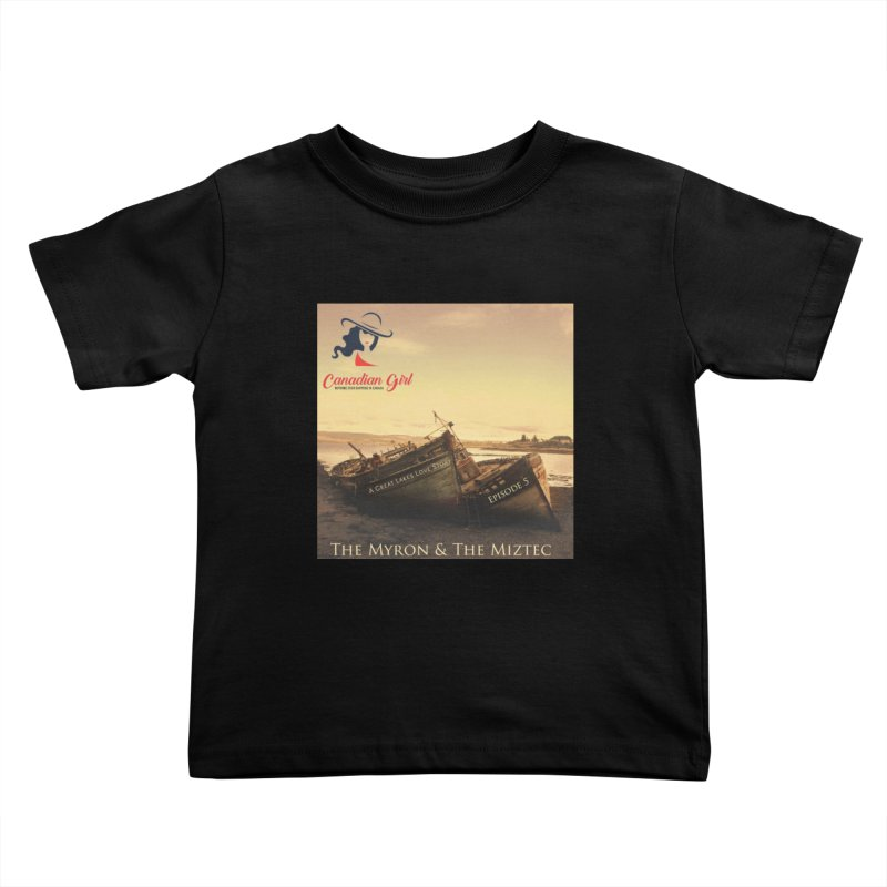 The Myron and the Miztec,  they could not be separated Kids Toddler T-Shirt by The Nothing Canada Souvenir Shop