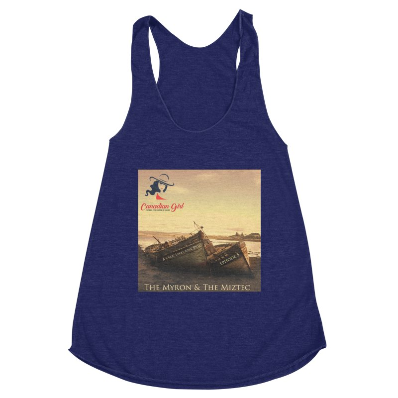 The Myron and the Miztec,  they could not be separated Women's Racerback Triblend Tank by The Nothing Canada Souvenir Shop