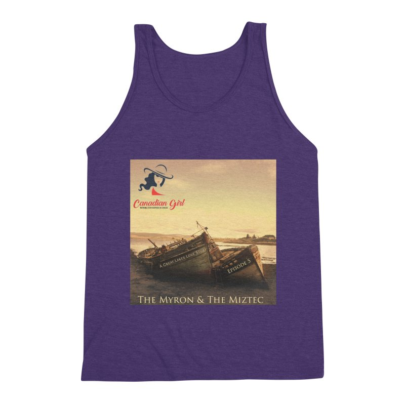 The Myron and the Miztec,  they could not be separated Men's Triblend Tank by The Nothing Canada Souvenir Shop