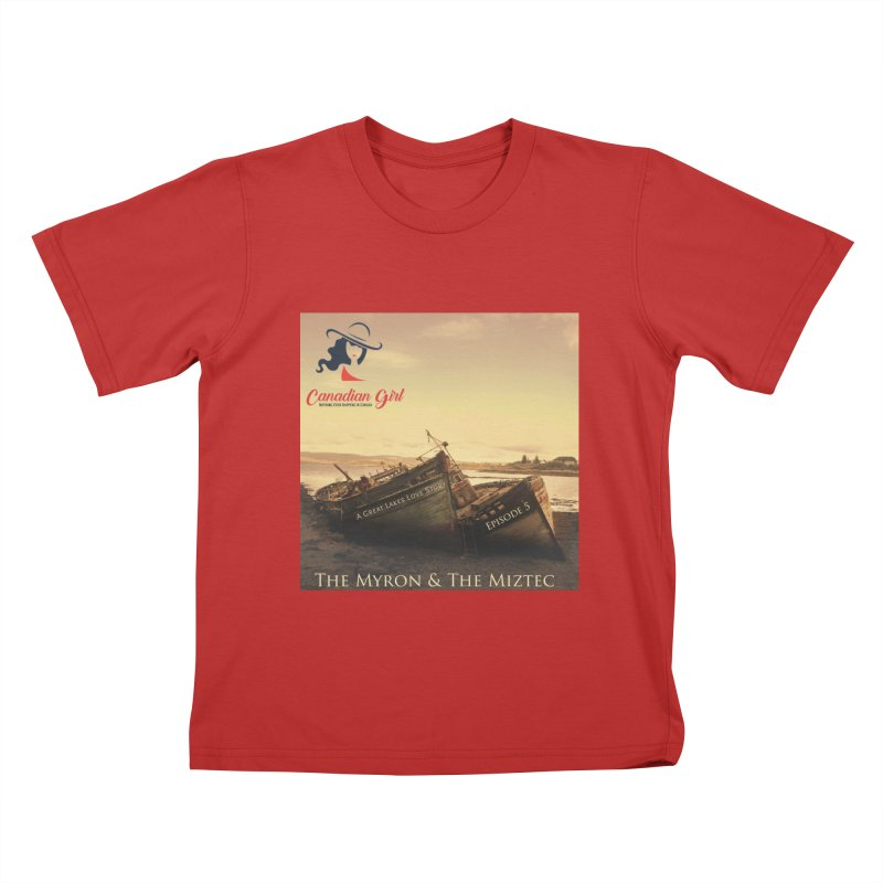 The Myron and the Miztec,  they could not be separated Kids T-Shirt by The Nothing Canada Souvenir Shop