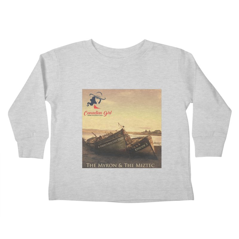 The Myron and the Miztec,  they could not be separated Kids Toddler Longsleeve T-Shirt by The Nothing Canada Souvenir Shop