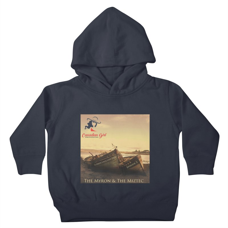 The Myron and the Miztec,  they could not be separated Kids Toddler Pullover Hoody by The Nothing Canada Souvenir Shop