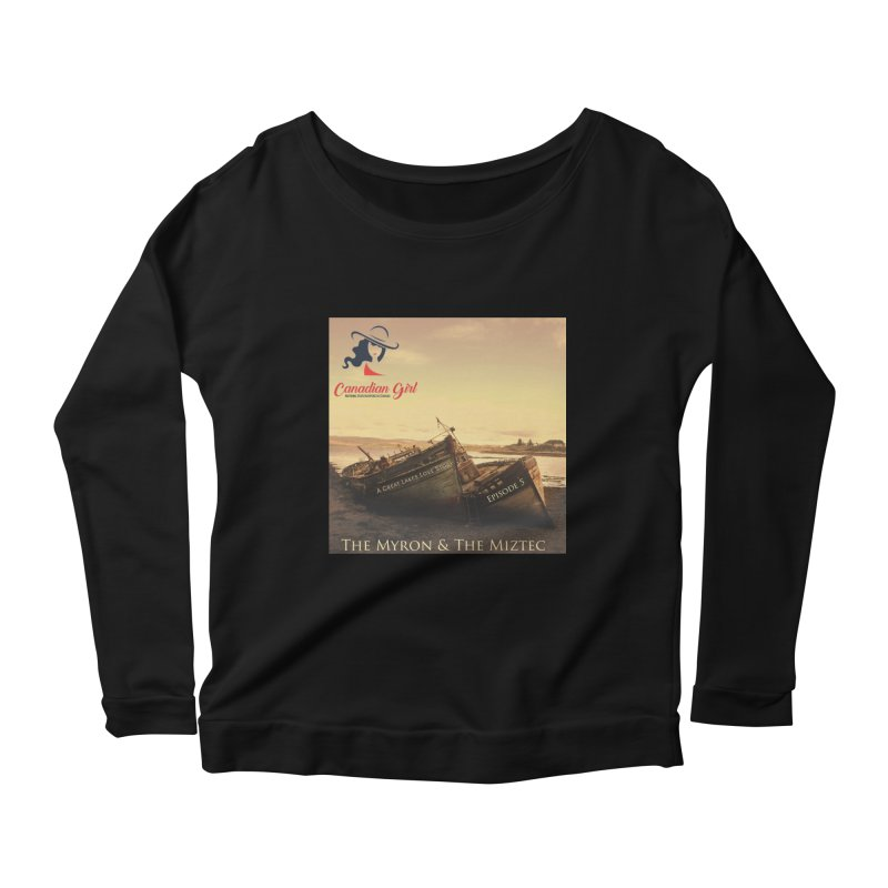 The Myron and the Miztec,  they could not be separated Women's Scoop Neck Longsleeve T-Shirt by The Nothing Canada Souvenir Shop