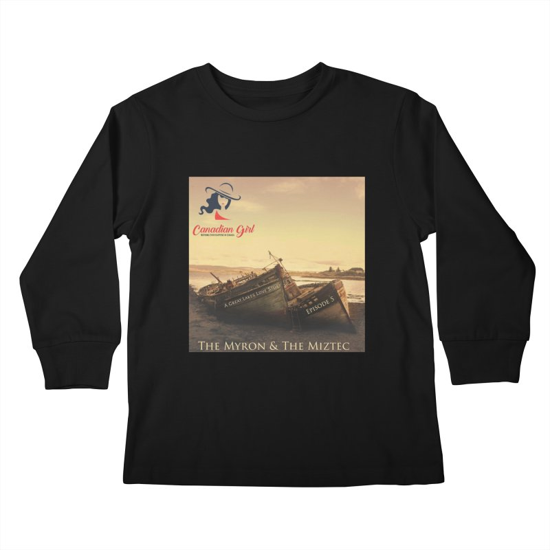 The Myron and the Miztec,  they could not be separated Kids Longsleeve T-Shirt by The Nothing Canada Souvenir Shop