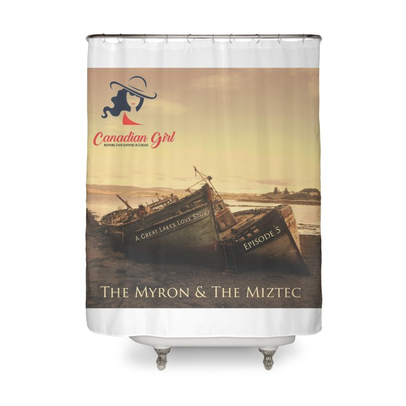 The Myron and the Miztec,  they could not be separated Home Shower Curtain by The Nothing Canada Souvenir Shop
