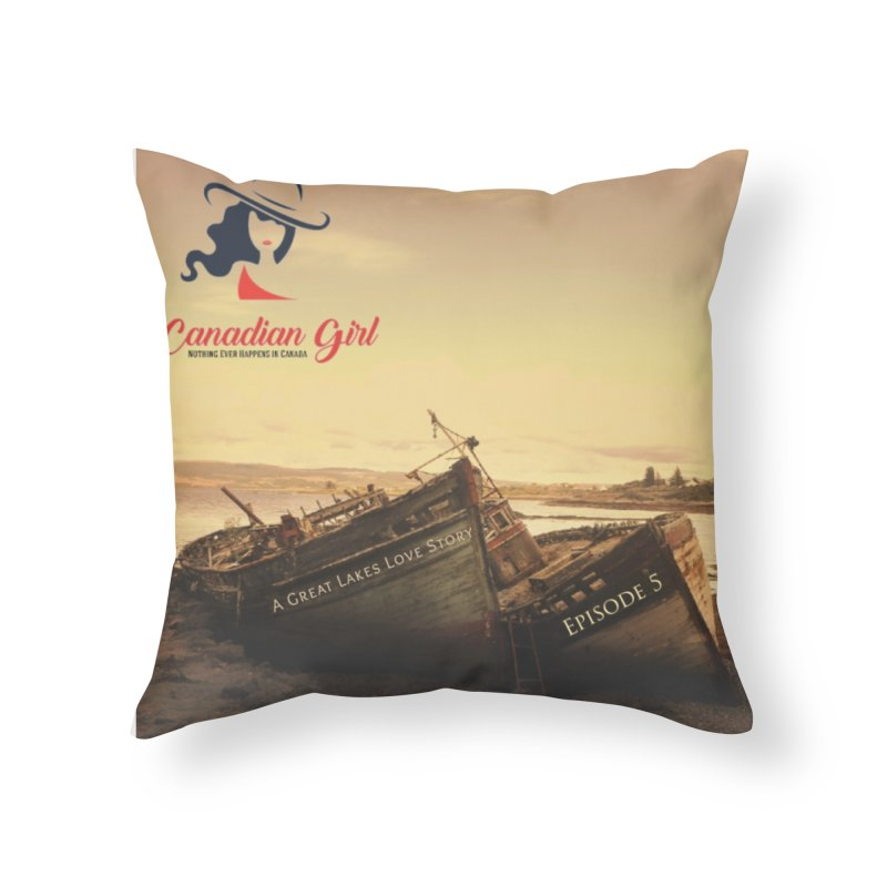 The Myron and the Miztec,  they could not be separated Home Throw Pillow by The Nothing Canada Souvenir Shop