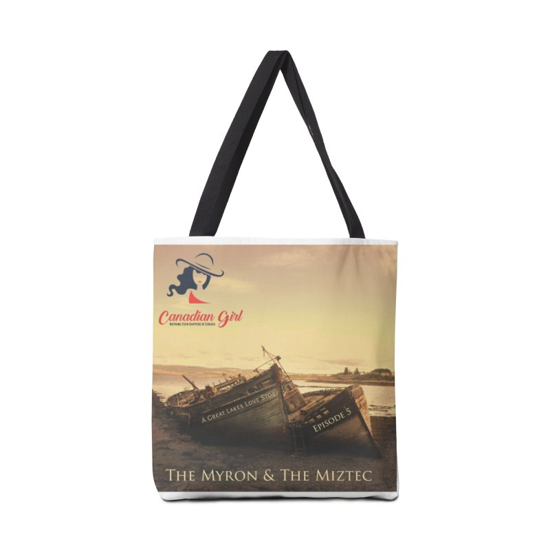 The Myron and the Miztec,  they could not be separated Accessories Tote Bag Bag by The Nothing Canada Souvenir Shop