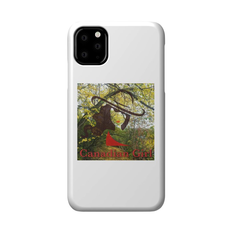 Canadian Girl -  Fall 2019 Accessories Phone Case by The Nothing Canada Souvenir Shop