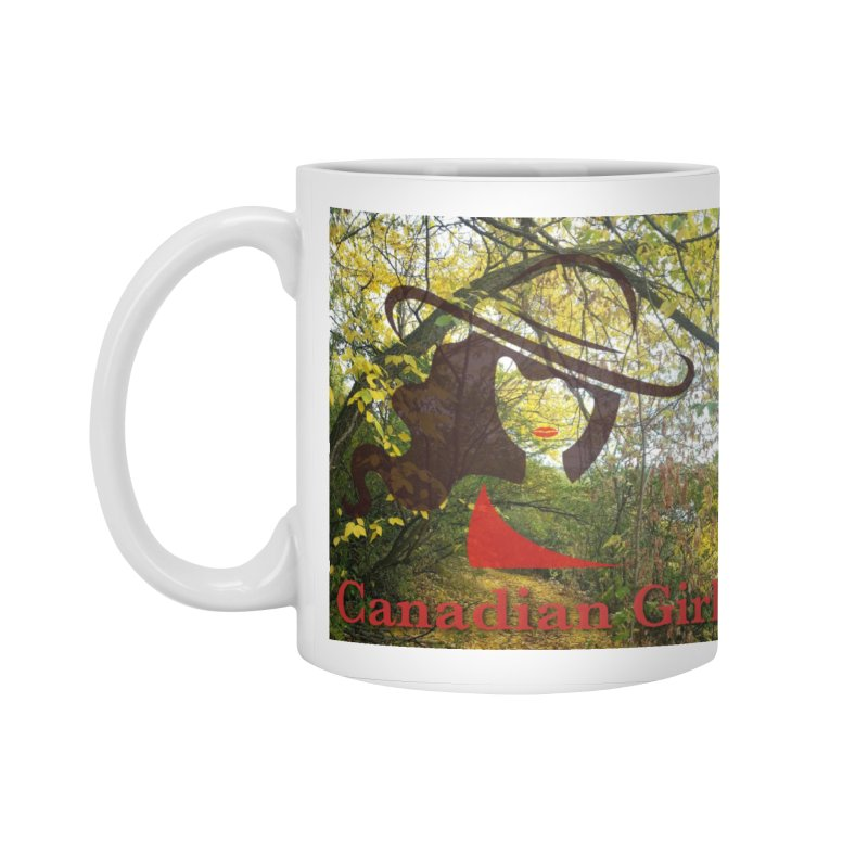 Canadian Girl -  Fall 2019 Accessories Standard Mug by The Nothing Canada Souvenir Shop