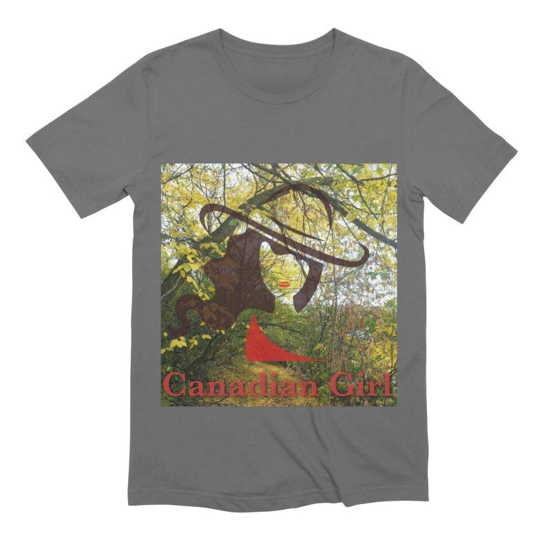 Canadian Girl -  Fall 2019 Men's T-Shirt by The Nothing Canada Souvenir Shop