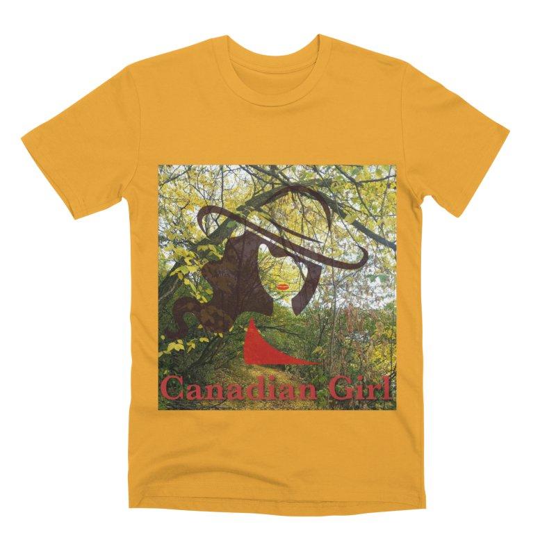 Canadian Girl -  Fall 2019 Men's Premium T-Shirt by The Nothing Canada Souvenir Shop