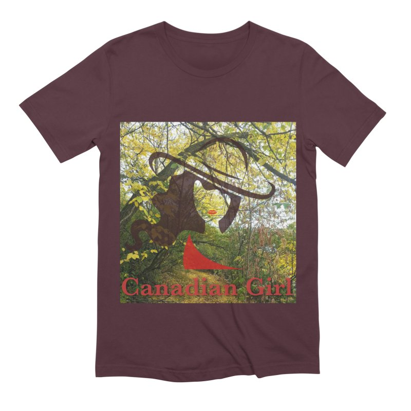 Canadian Girl -  Fall 2019 Men's Extra Soft T-Shirt by The Nothing Canada Souvenir Shop