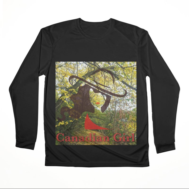 Canadian Girl -  Fall 2019 Women's Performance Unisex Longsleeve T-Shirt by The Nothing Canada Souvenir Shop