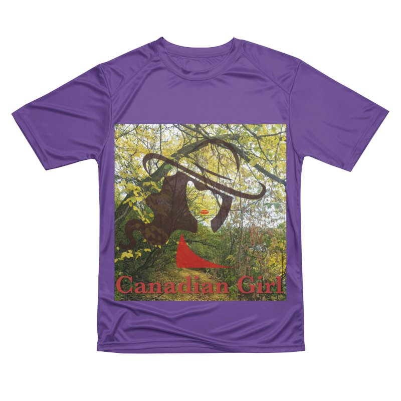 Canadian Girl -  Fall 2019 Men's Performance T-Shirt by The Nothing Canada Souvenir Shop