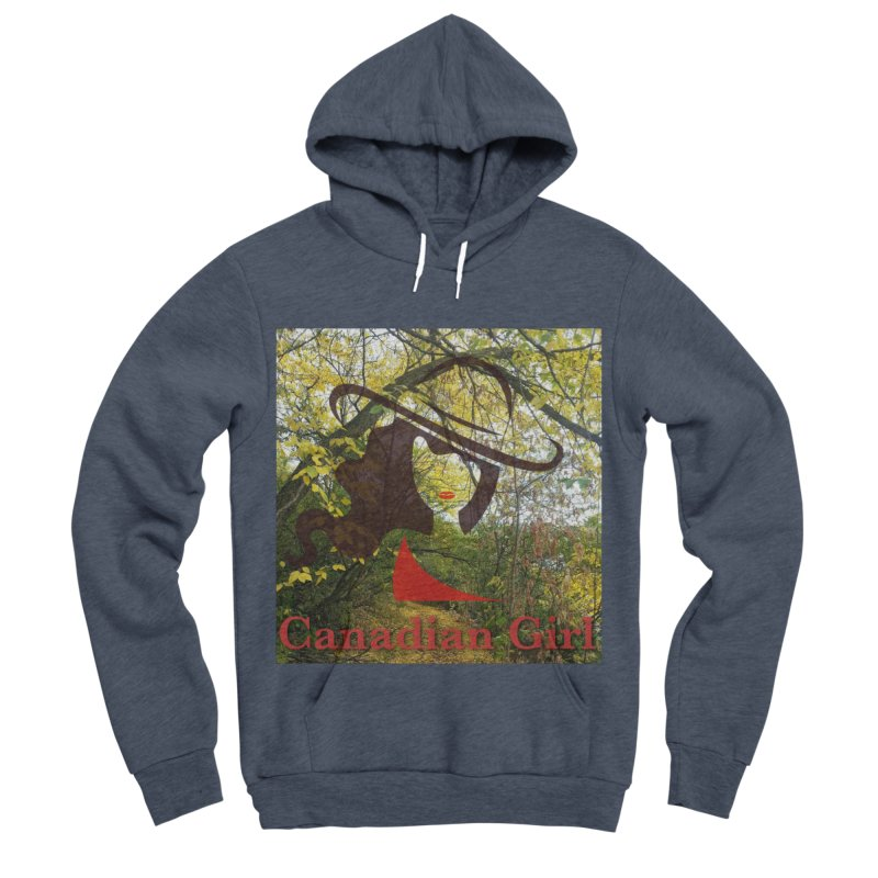 Canadian Girl -  Fall 2019 Women's Sponge Fleece Pullover Hoody by The Nothing Canada Souvenir Shop