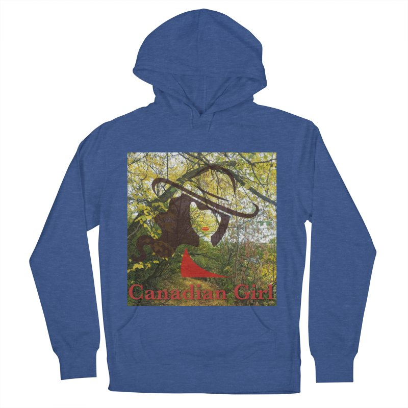 Canadian Girl -  Fall 2019 Women's French Terry Pullover Hoody by The Nothing Canada Souvenir Shop