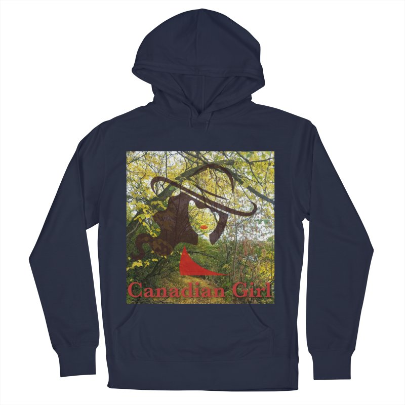 Canadian Girl -  Fall 2019 Men's French Terry Pullover Hoody by The Nothing Canada Souvenir Shop