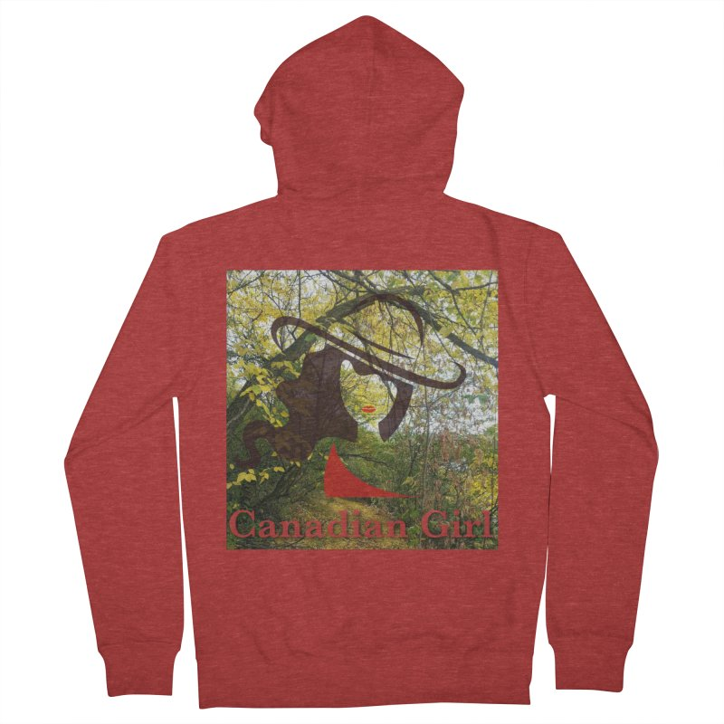 Canadian Girl -  Fall 2019 Women's French Terry Zip-Up Hoody by The Nothing Canada Souvenir Shop