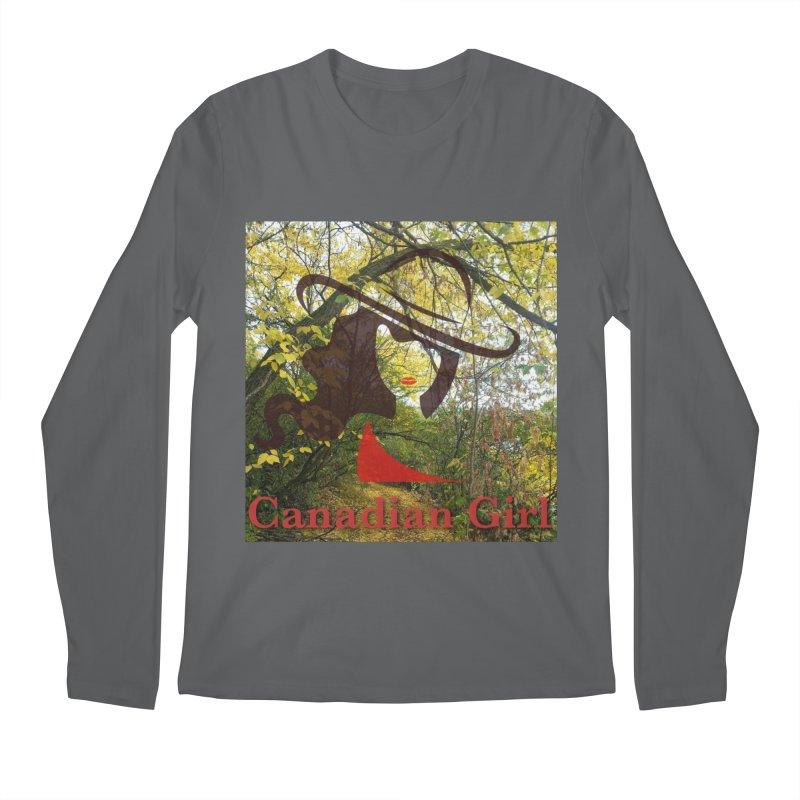 Canadian Girl -  Fall 2019 Men's Regular Longsleeve T-Shirt by The Nothing Canada Souvenir Shop