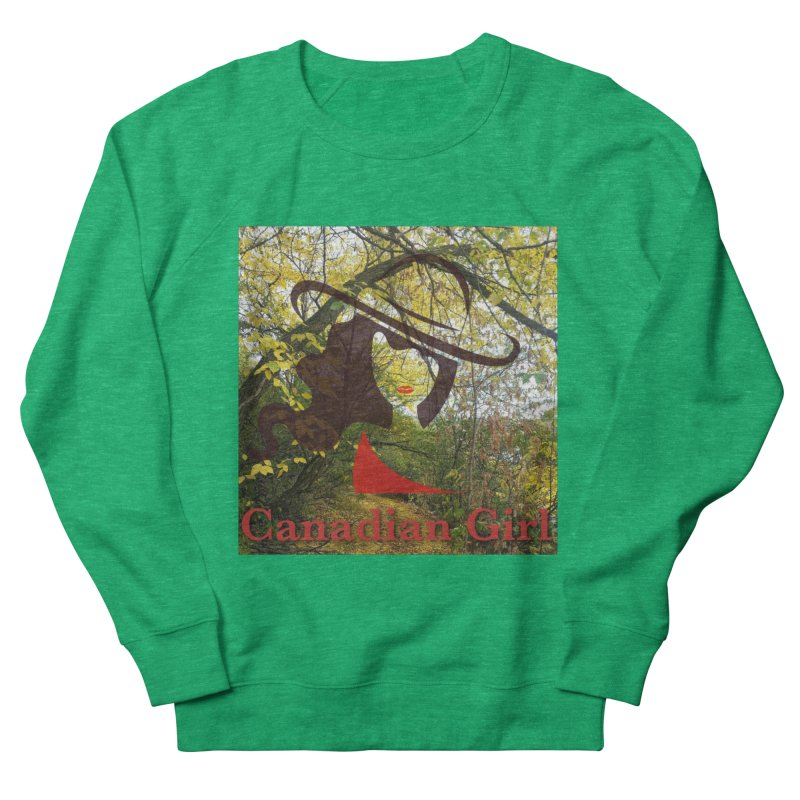Canadian Girl -  Fall 2019 Women's French Terry Sweatshirt by The Nothing Canada Souvenir Shop